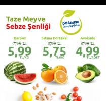 CarrefourSA'da Taze Meyve Sebze Şenliği Başladı!