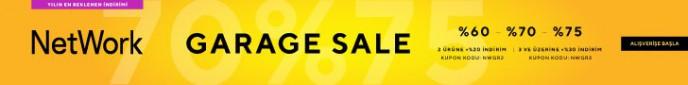 Network'de Garage Sale İndirimleri Başladı!