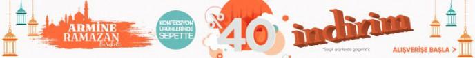 Armine'de Konfeksiyon Ürünlerinde Sepette %40 İndirim