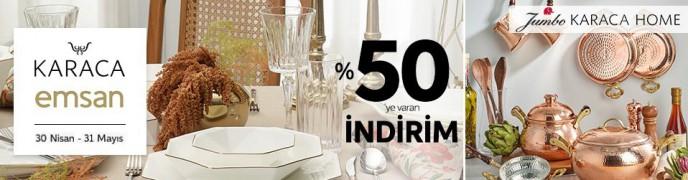 Trendyol'da Karaca Ve Emsan Ürünleri %50'ye Varan İndirimlerle Satışta!