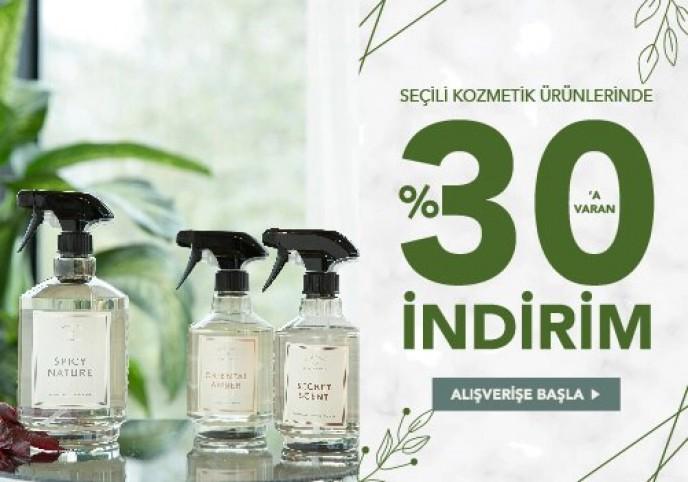 Chakra Seçili Kozmetik Ürünler %30'a Varan İndirimlerle!