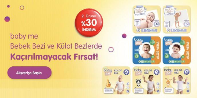 ebebek.com'da %30 indirim