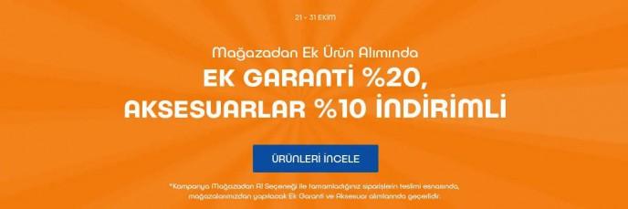 Teknosa'da Ek Garanti %20, Aksesuarlar %10 İndirimli!