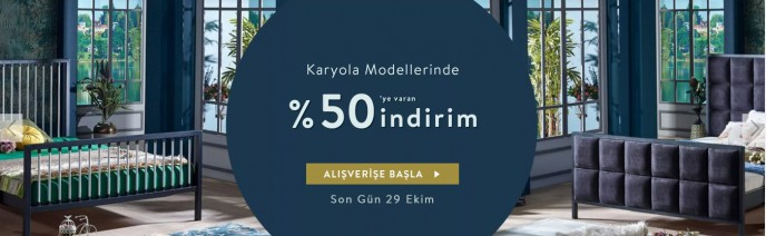 Vivense Karyola Modellerinde %50'ye Varan İndirim!