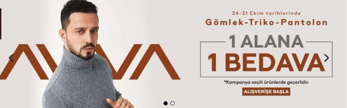 Avva'da 1 ALANA 1 BEDAVA Kampanyası Başladı!