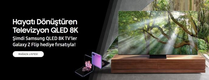 Samsung'tan QLED 8K Televizyon Hediye Kampanyası