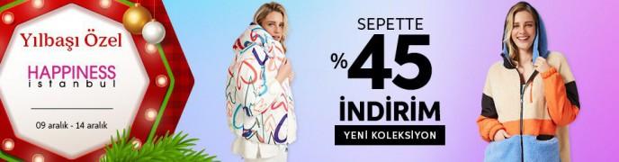 Trendyol Yılbaşı Özel: Happiness İstanbul'da %45 İndirim