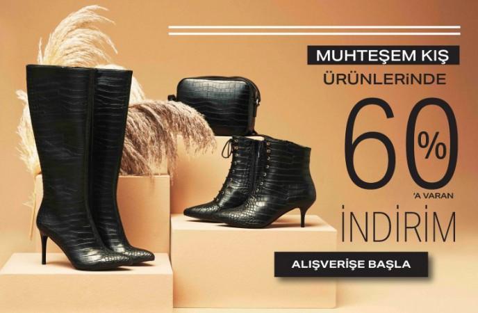 Ayakkabı Dünyası Kış Ürünlerinde %60'a Varan İndirimler!