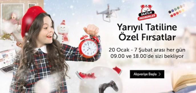 n11'de Yarıyıl Tatiline Özel Fırsatlar Başladı!