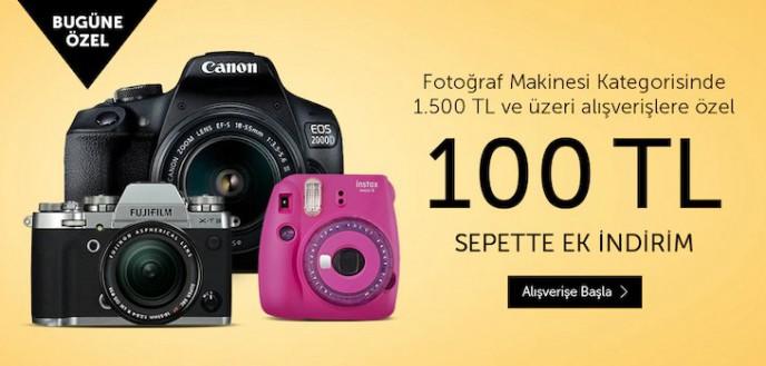 N11 Fotoğraf Makinesi Ürünlerinde 100 TL Kazanma Fırsatı!