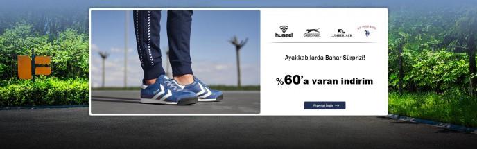 MarkaStok'ta %60'a Varan İndirimlerle Ayakkabılarda Bahar Sürprizi!