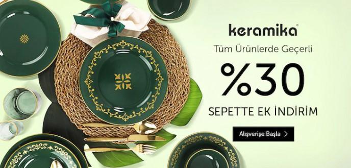 Keramika Ürünlerinde Geçerli %30 Sepet İndirimi N11'de!