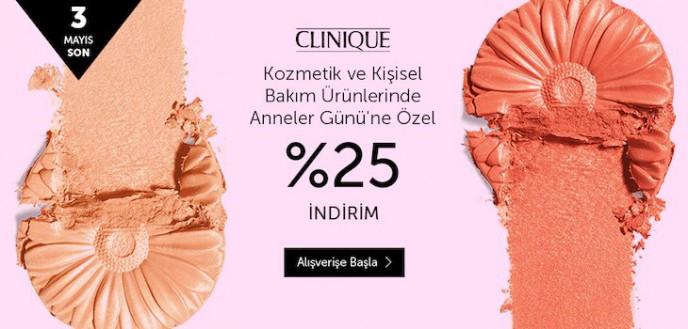 Clinique Marka Kişisel Bakım ve Kozmetik Ürünlerinde %25 İndirim n11'de!