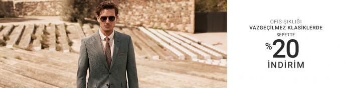 Pierre Cardin'in Vazgeçilmez Klasiklerinde Sepette %20 İndirim Fırsatı