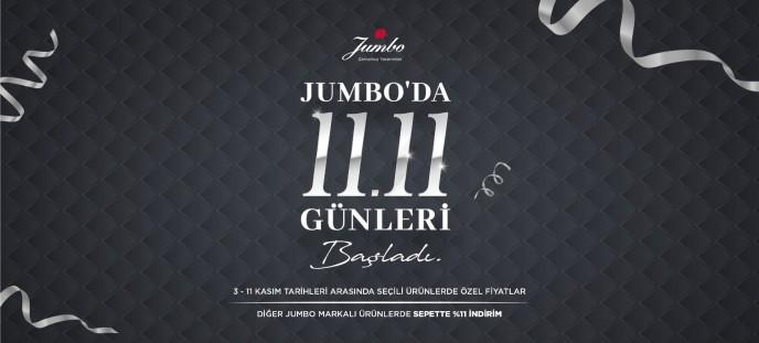 Jumbo'da 11.11 Günleri Başladı!