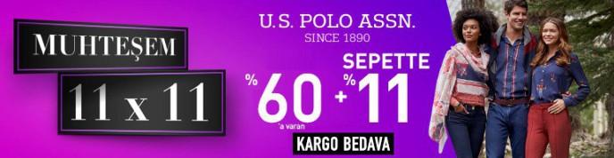 Morhipo U.S Polo Mağazasında Geçerli %60'a Varan ve Sepette +%11 İndirim Fırsatı!