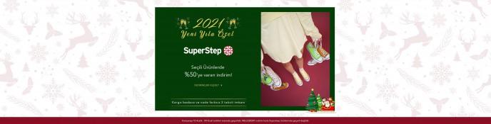 Lidyana Yeni Yıla Özel SuperStep Ürünlerinde %50'ye Varan İndirim!