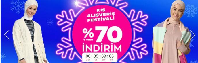 Modanisa Kış Alışveriş Festivali ile %70'e Varan İndirim!