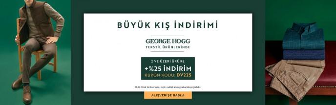Divarese George Hogg Tekstil Ürünlerinde Büyük Kış İndirimleri!