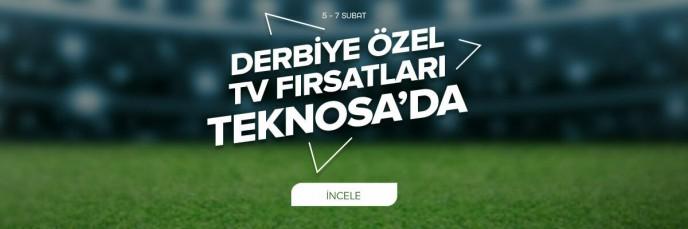 Derbiye Özel TV Fırsatları Teknosa'da!