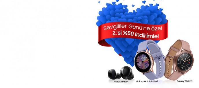 Samsung Galaxy Ürünlerinde Sevgililer Günü'ne Özel 2.si %50 İndirimle