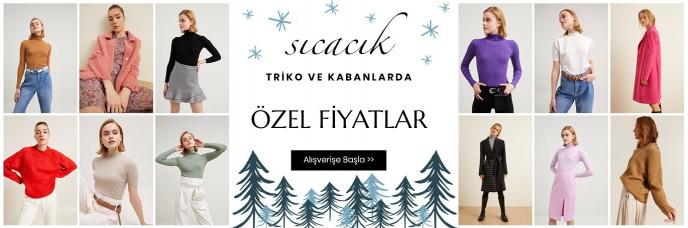 adL Sıcacık Triko ve Kazaklarda Özel Fiyatlar!