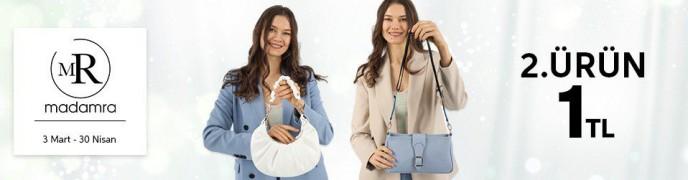 Trendyol Madamra Çantalarında 2. Ürün 1 TL Kampanyası