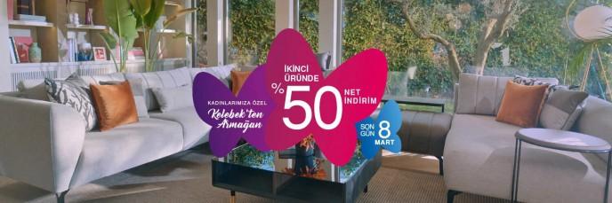 Kelebek Mobilya'da Kadınlar Günü'ne Özel Kaçırılmayacak Fırsat!