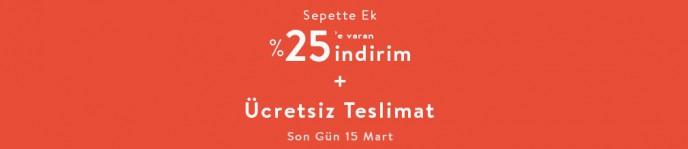 Vivense Mart Fırsatları ile Sepette %25'e Varan İndirimler