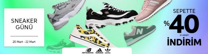 Trendyol Sneaker Günleri ile Sepette %40'a Varan İndirimler