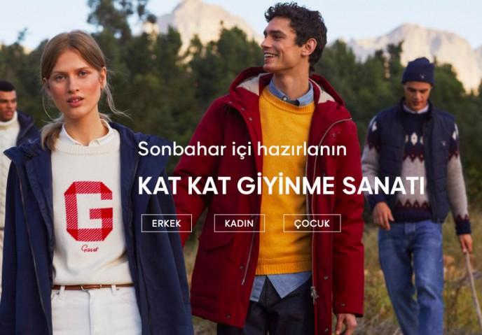Gant'ta Yeni Sezonda Alt Limitsiz %10 İndirim
