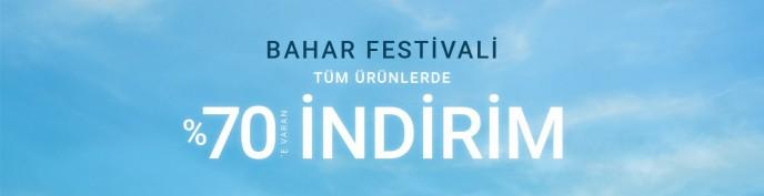 Bahar Festivali %70'e Varan İndirim Pierre Cardin'de!