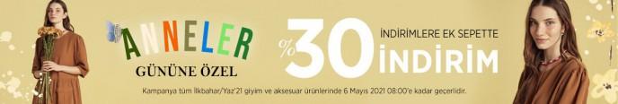 Mudo'da Anneler Günü'ne Özel %30 Sepet İndirimi!