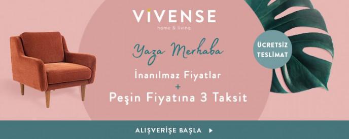 Vivense'de İnanılmaz Fırsatlar, Peşin Fiyatına 3 Taksit ve Ücretsiz Teslimat