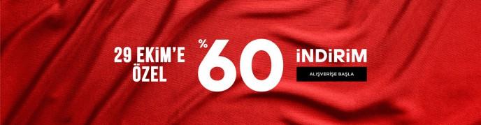 Hotiç'ten 29 Ekim'e Özel %60 İndirim!