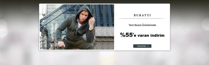 MarkaStok'ta Buratti Ürünlerinde Geçerli %55'e Varan İndirim