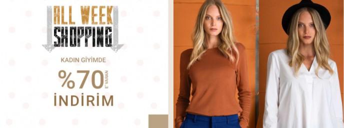 Pierre Cardin Kadın Giyim Ürünlerde %70'e Varan İndirim