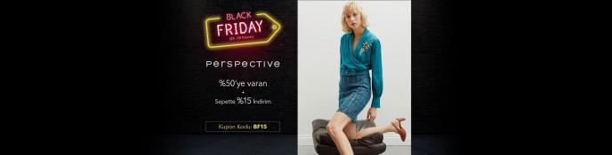 Lidyana Black Friday'e Özel Perspective Ürünlerinde %50 + %15 İndirim
