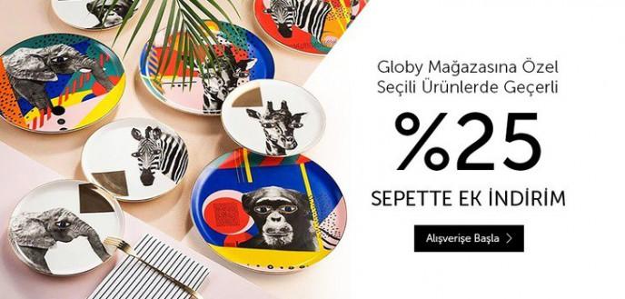 N11 Globy Mağazasında Seçili Ürünlerinde Sepette Ek %25 İndirim Fırsatı
