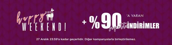 Brandroom'da Happy Weekend Fırsatları ile %90'a Varan İndirimler!