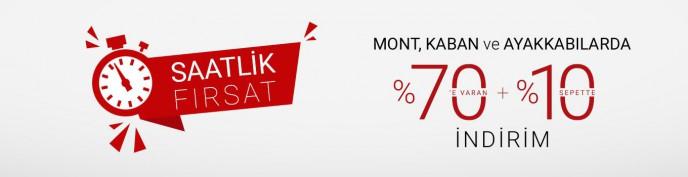 Mont, Kaban ve Ayakkabılarda %70'e Varan+%10 İndirim Pierre Cardin'de!