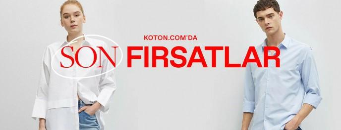 Koton'da Son Fırsatlar Sizi Bekliyor!