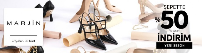 Marjin Ürünlerinde Sepette %50'ye Varan İndirim Trendyol'da!