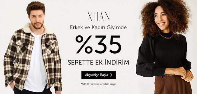 XHAN Erkek ve Kadın Giyim Ürünlerinde %35 İndirim N11'de!