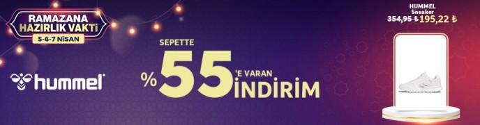 Trendyol Hummel Ürünlerinde Sepette %55'e Varan Ramazana Hazırlık İndirimleri