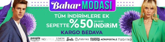 Morhipo'da Bahar Modası: Tüm İndirimlere Ek Sepette %50'ye Varan İndirim