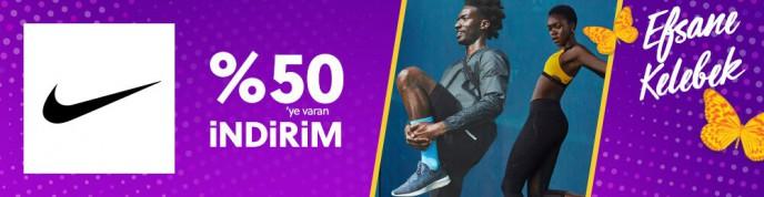 %50'ye Varan Nike İndirimleri Morhipo'da!