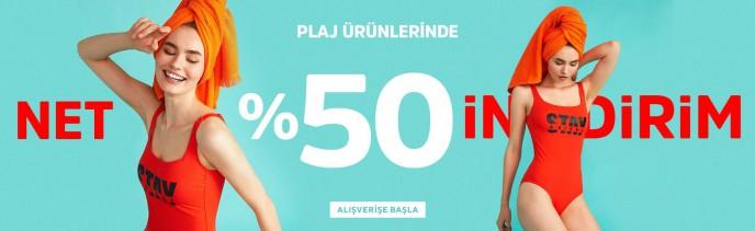 Suwen'de Plaj Giyim Ürünleri Net %50 İndirimle!