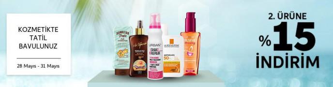 Trendyol Kozmetikte 2. Ürüne %15 İndirim Fırsatı!