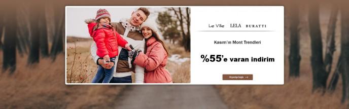 MarkaStok'ta Kasım Mont Trendleri - %55'e Varan İndirim!